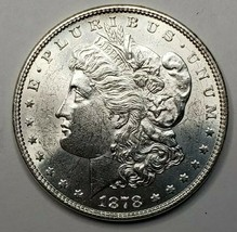 1878 7TF Rev 78 MORGAN SILVER $1 DOLLAR Coin Lot# 519-14