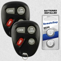 2 For 02 2003 2004 2005 Chevrolet Astro Blazer GMC Jimmy Safari Remote K... - $14.84