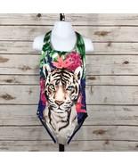 Girls Gymboree Tiger Jungle Bright One-Piece Swim/Bathing Suit, NWT K5107 - $18.00