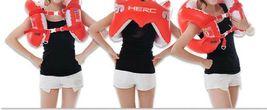 Herc Adult Shoulder Swim Ring Tube for Men Women (Red) image 4