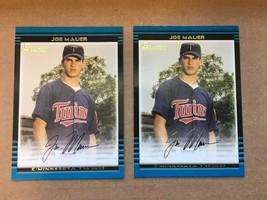 2002 Bowman Joe Mauer #379 Rookie Baseball Card NM Condition Twins GOLD ... - $15.99