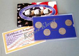 2000 Philadelphia Mint Edition State Quarter Collection - MA, SC, NH, MD, VA - $12.55