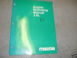 1997 Mazda 3.0L Engine Service Repair Shop Manual 97 - $9.61