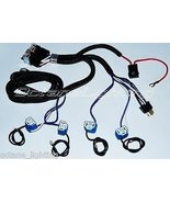 OCTANE LIGHTING Ceramic H4 Headlight 4 Headlamp Light Bulb Socket Plug R... - $39.55