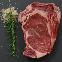 Grass Fed Beef Rib Eye, Cut To Order - 9 lbs, 1 1/4-inch steaks - $166.13