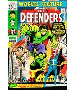 """Marvel Comic Covers Feature """"THE DEFENDERS # """" Stand-Up Display - Collec... - $15.99"""