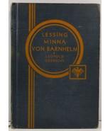 G. E. Lessing Minna von Barnhelm W. F. Leopold and C. R. Goedsche - $4.99