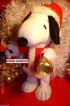 "Hallmark 2011 Bell Ringer Snoopy Sound & Motion Plush 14"" Tall Peanuts   - $19.99"
