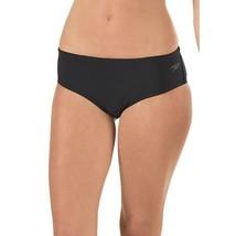 NEW Speedo Women's Endurance Lite Solid Black Boyshort Swim Bottom size 10 - $21.77