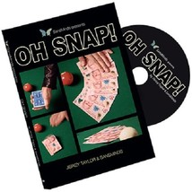 OH SNAP! (DVD and Gimmick) by Jibrizy Taylor and SansMinds - Magic Tricks - $30.68