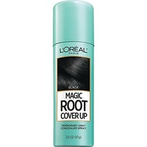 L'Oreal Paris Magic Root Cover Up Gray Concealer Spray Black, 2 Ounce Pa... - $7.90