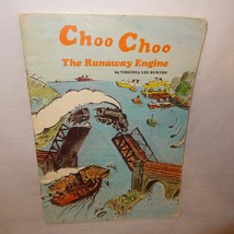 Choo Choo The Runaway Engine Book 1965 Vintage Train Paperback - $7.99