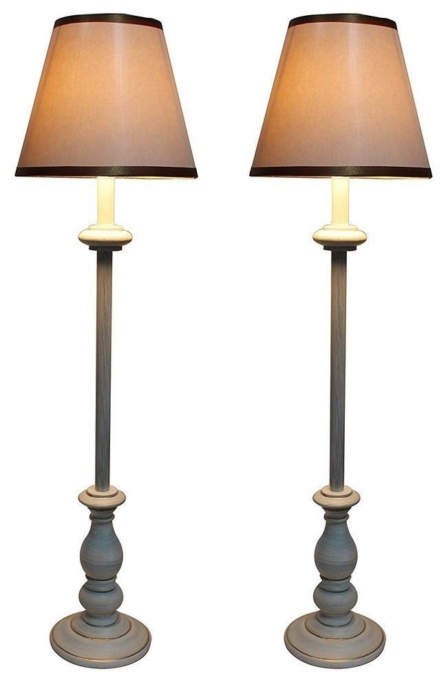 Banchetto Buffet Lamps With Shades, Set of 2 - $79.99