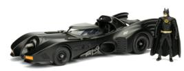 Diecast 1989 Batmobile with Batman figure - $38.50