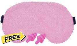Woman Sleeping Mask Eyes Cover Eye Night Sleep Protection Covering Pink ... - €19,10 EUR