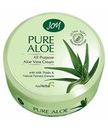 2 X  Joy Pure Aloe All Purpose Aloe Vera Cream 100ml 100 %quality free ship - $13.85