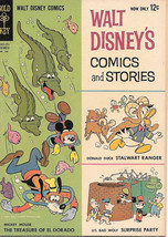 Walt Disney's Comics and Stories Comic Book #266 Dell Comics 1962 VERY G... - $12.13