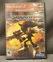 Shadow the Hedgehog (Sony PlayStation 2, 2005) PS2 Video Game - $9.56