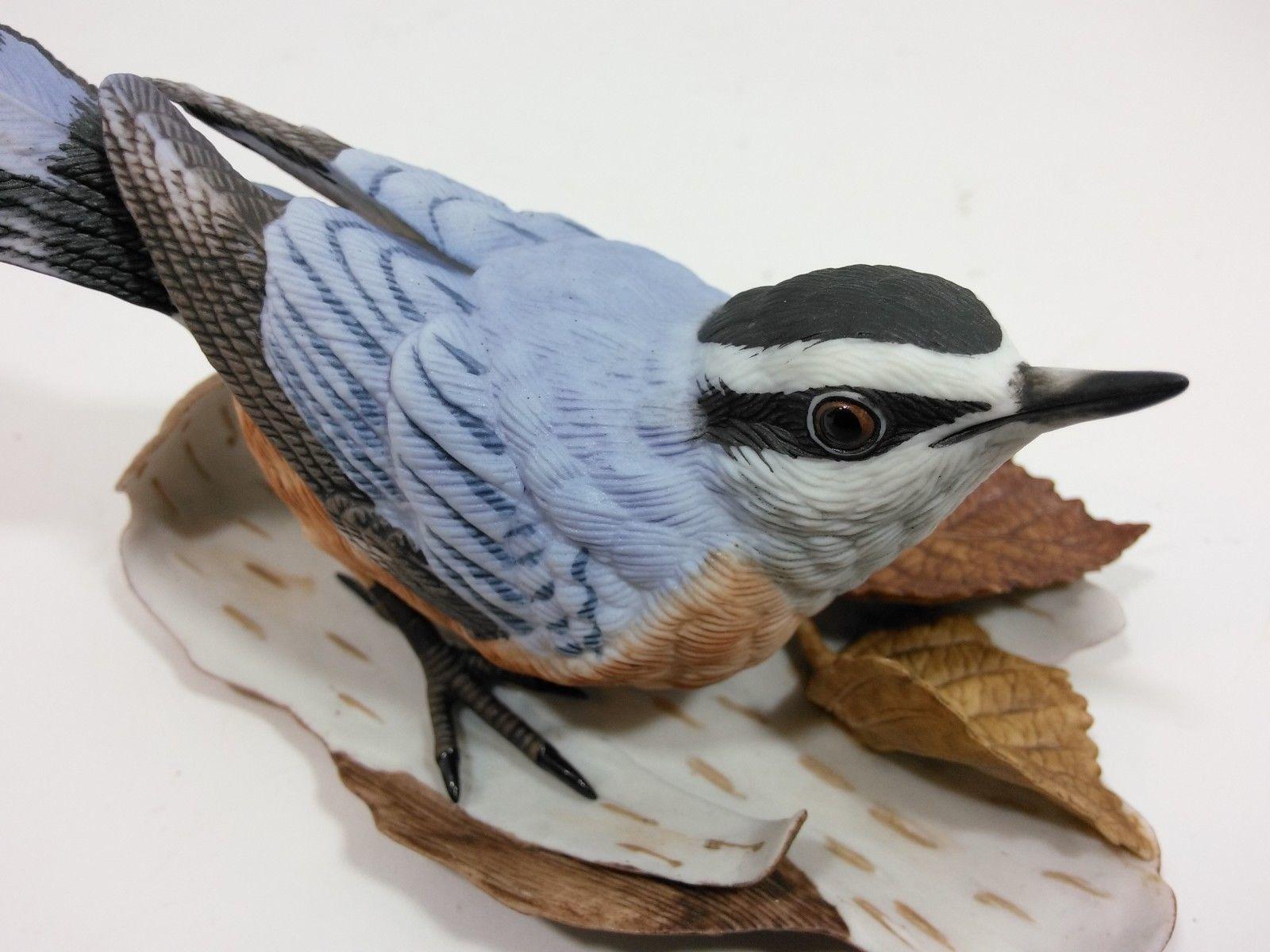 THE LENOX GARDEN BIRD COLLECTION Nuthatch (Fine Porcelain 1987) image 7