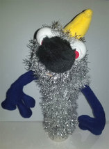 "C5 * Deluxe Custom ""Sparkly Alien w/ Yellow Horn""  Sock Puppet * Custom ... - $10.00"