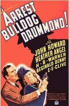 Arrest Bulldog Drummond! - 1939 - Movie Poster - $9.99+