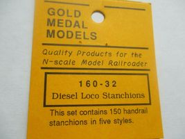Gold Medal Models # 160-32 Diesel Loco Stanchions  N-Scale image 3