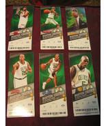 Boston Celtics Vs Knicks,Bulls,Magic,Hawks,Nuggets,Pacers Ticket Stubs L... - $33.52