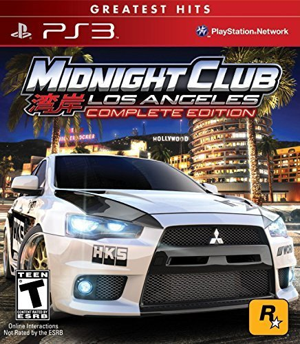 Midnight Club: Los Angeles - Greatest Hits - Complete Edition - Playstation 3 [P