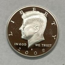 2008-S Kennedy Proof Silver Half Dollar US Mint  Deep Cameo     Item #66 - $19.50