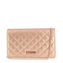 Love Moschino Rotgold Gesteppt Clutch - $130.89