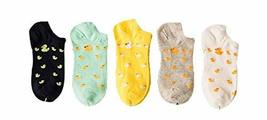 PANDA SUPERSTORE 5 Pairs Installed Socks Thin Section Female Socks Breathable Co
