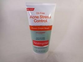 Neutrogena Oil-Free Acne Stress Control Power-Cream Wash 6 fl oz [HB-N] - $14.96