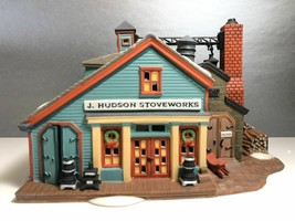 New England Village Series  Jay Hudson Stone Works Hand Painted Porcelain Made  - $14.03
