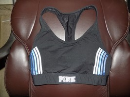 Victoria's Secret Pink Ultimate Pocket Racer Back Mesh Sports Bra Size M Euc - $23.40