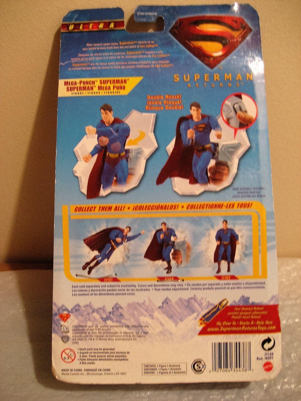 Mattel Superman Returns Mega Punch Action Figure