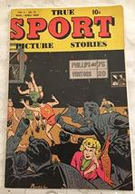 True Sport Picture Stories Vol. 4#12 1949-Basketball-Bob Powell-last issue-VG - $49.45