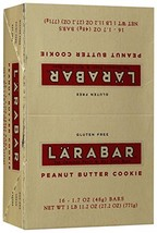 LARABAR Gluten Free Bar - Peanut Butter Cookie - 1.6 oz - 16 ct