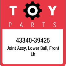 43340-39425 Toyota Ball Joint Lower, New Genuine OEM Part - $91.67