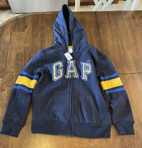 GAP Boy's Zip Up Hoodie Sweatshirt Jacket NWT Size L - $19.79