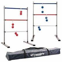 Press Fit Outdoor Ladderball Set Includes 6 Soft Ball Bolas and Durable ... - $45.47