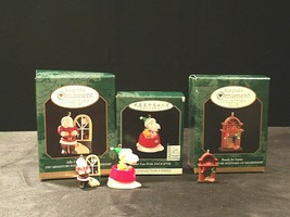 Hallmark Handcrafted Ornaments AA-191774A Collectible  ( 3 pieces )