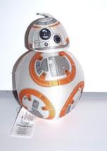 "Disney Star Wars The Force Awakens BB-8 Robot 7"" Plush Orange White Gray... - $3.68"