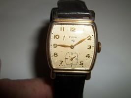 Vintage Elgin Mens Wrist Watch - $85.00