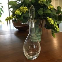 Rosenthal Wine Decanter Crystal Clear Stopper Serve Glassware Elegant  - $74.79