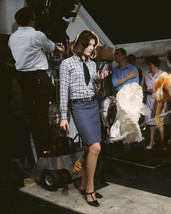 Vanessa Redgrave In Blowup Full Length Pose On Set Holding Camera During Filming - $69.99