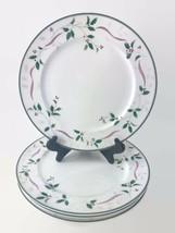 Mikasa Christopher Stuart Holiday Splendor Christmas China Dinner Plates... - $67.29