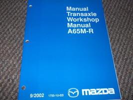 2003 Mazda 6 MAZDA6 Manuell Transaxle Service Manuell OEM - $10.39