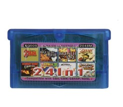 Nintendo GBA Video Game Cartridge Console Card Collection English 24 in 1 - $15.80