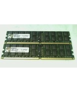 Kingston 8GB Kit 2 x 4GB PC2-6400 ECC Reg 240 Pin Server DIMM RAM KTH-BL... - $39.59