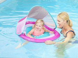 SwimWays Baby Spring Float Sun Canopy Brand New image 5